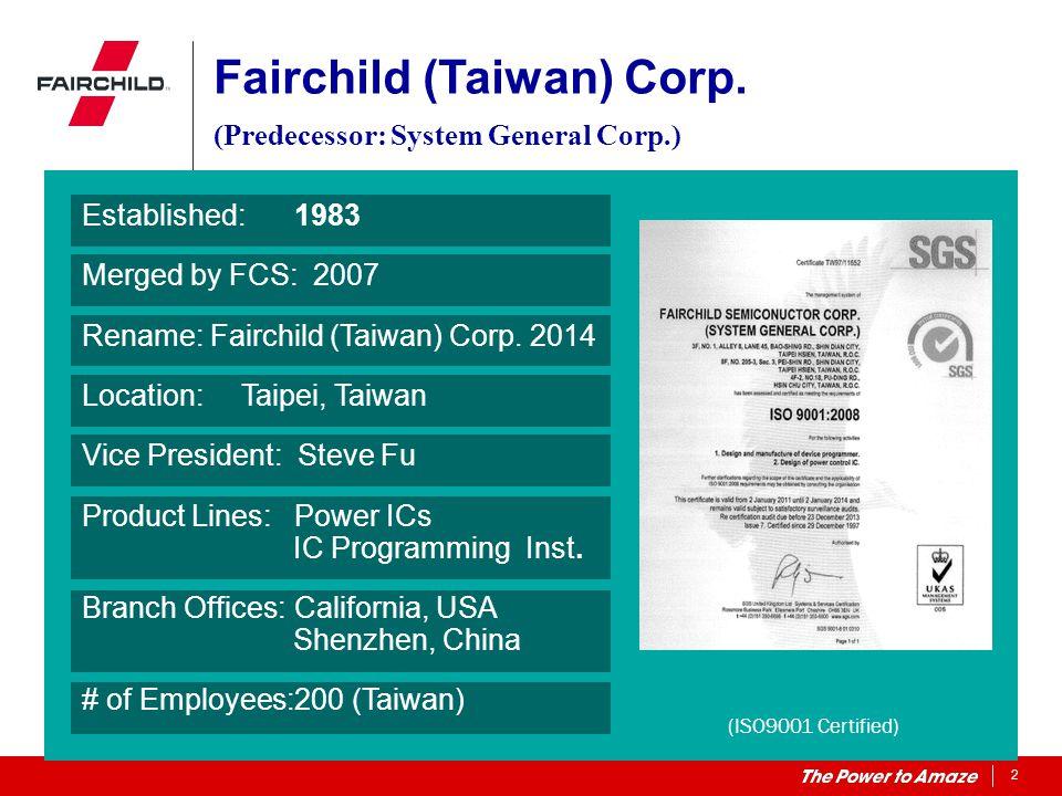 Fairchild (Taiwan) Corp.