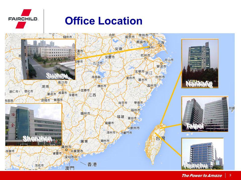 Office Location Suzhou Nankang Taipei Shenzhen Hsinchu