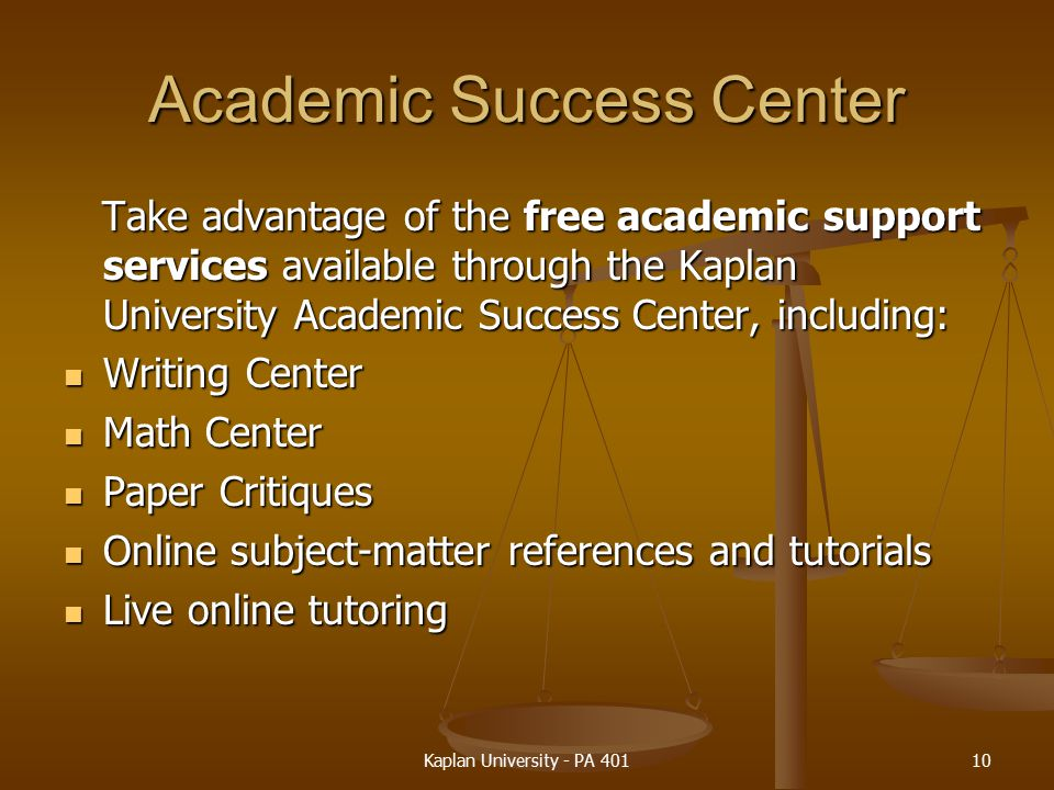 Online writing center free