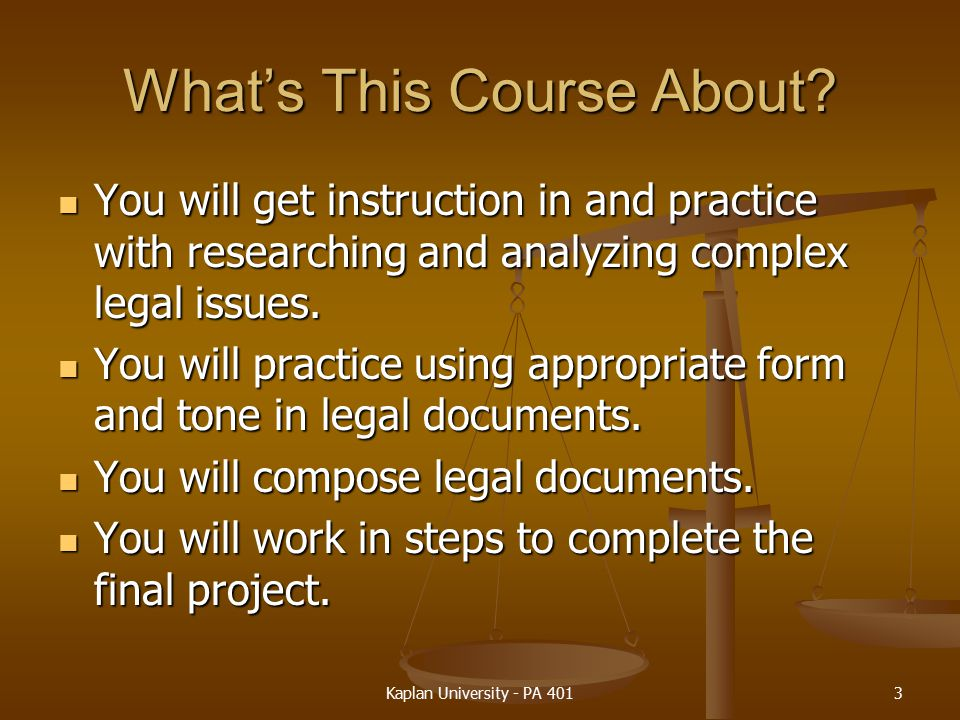 What's This Course About
