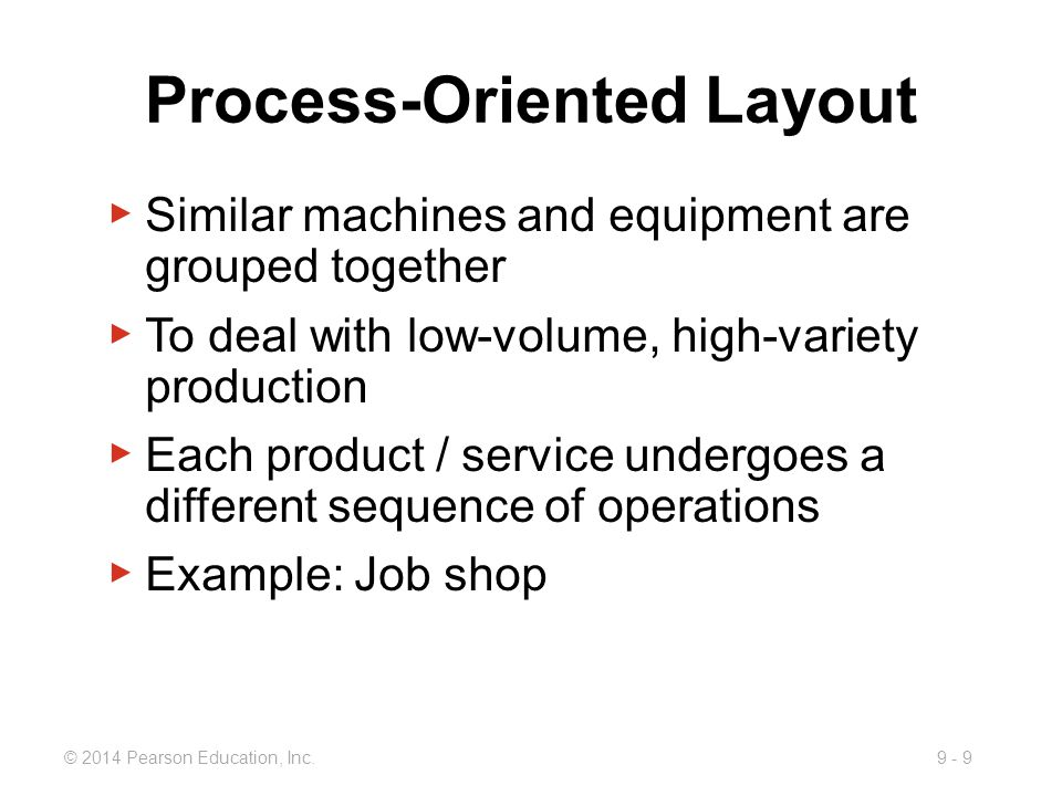Process-Oriented Layout