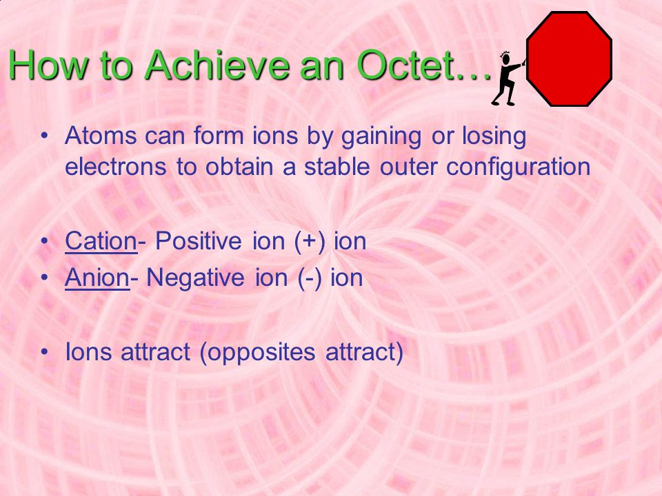 How to Achieve an Octet…