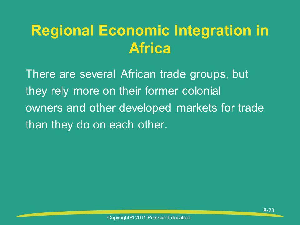 Regional Economic Integration in Africa
