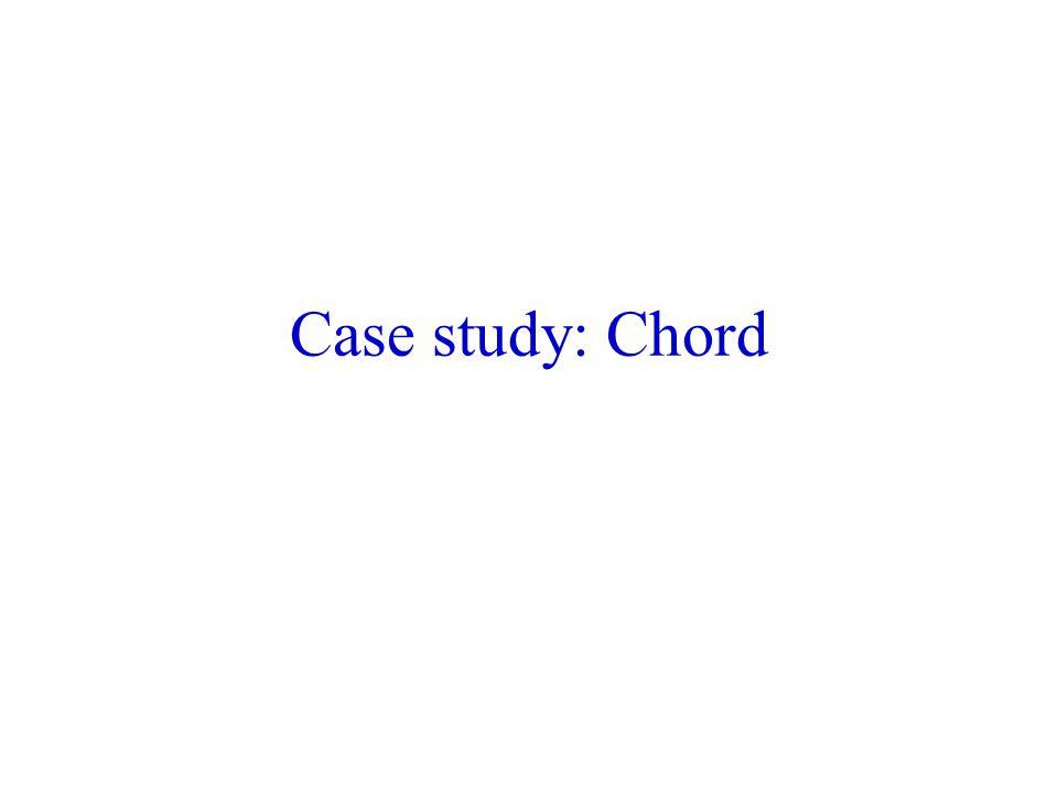 Case study: Chord