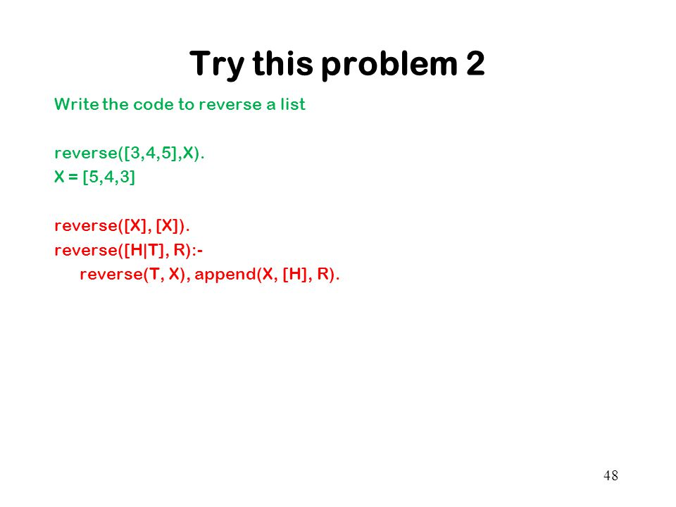 Try this problem 2