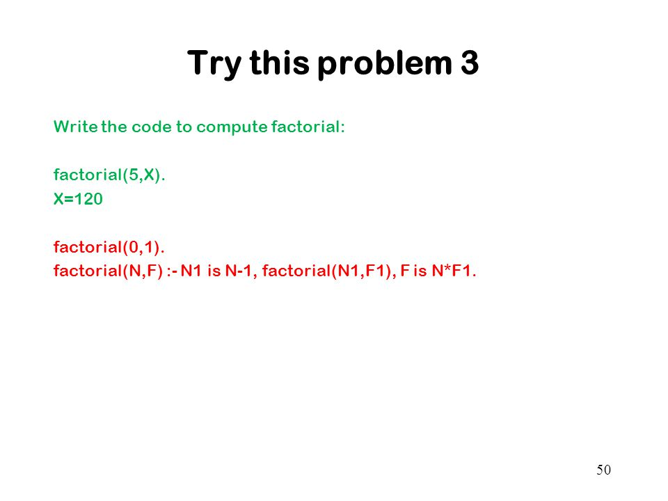 Try this problem 3