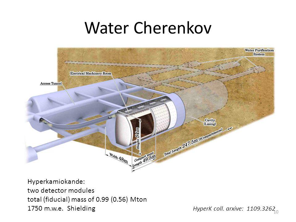 Water Cherenkov Hyperkamiokande: two detector modules