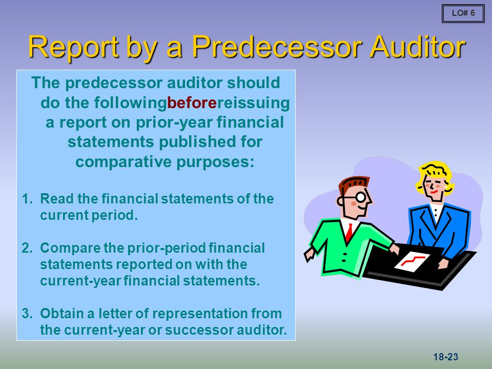 Report by a Predecessor Auditor