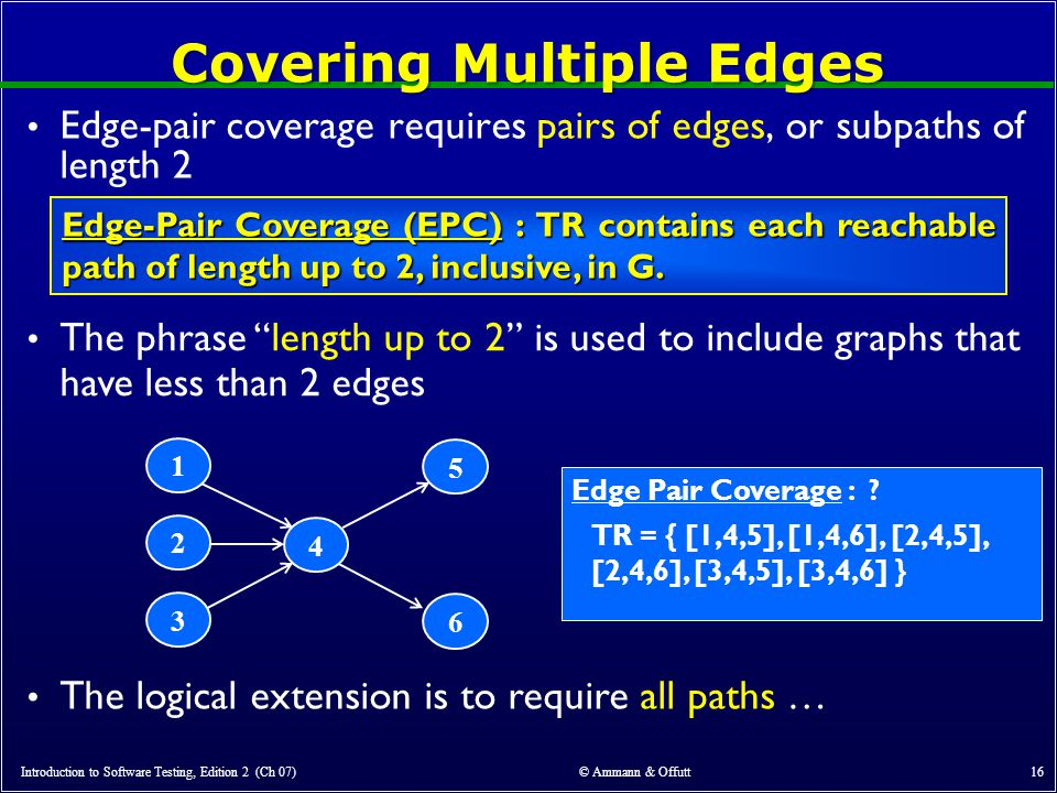 Covering Multiple Edges