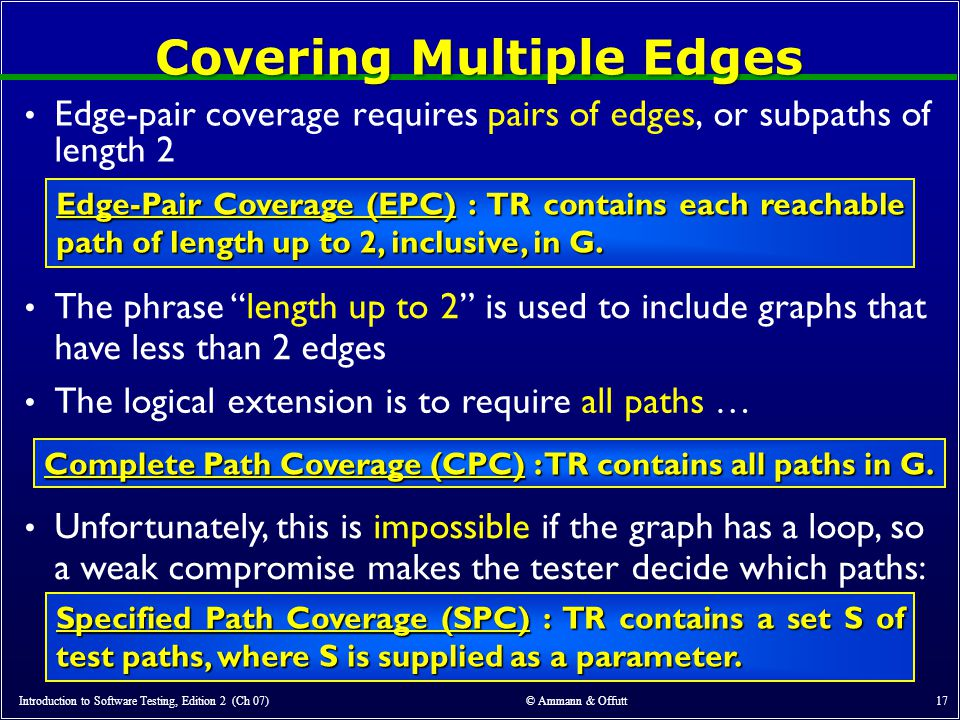 Covering Multiple Edges