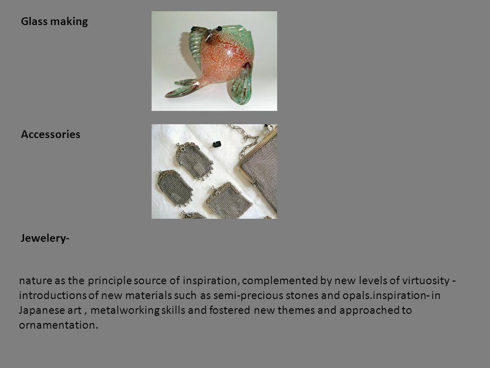 Glass making Accessories. Jewelery-