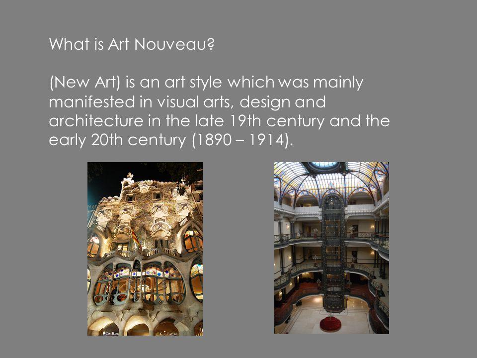 What is Art Nouveau