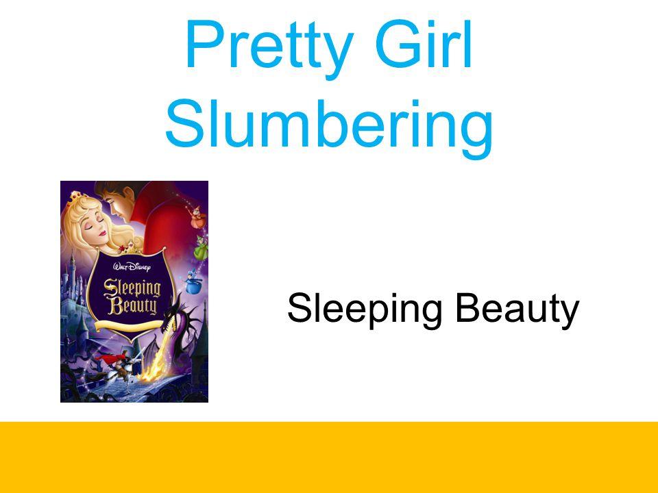 Pretty Girl Slumbering
