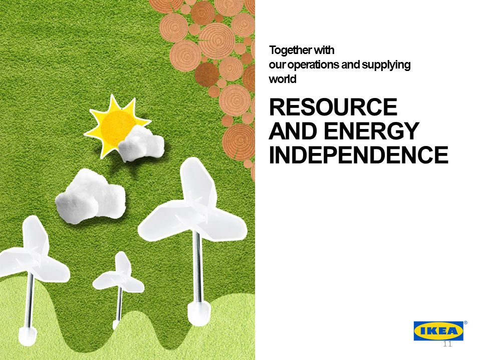 RESOURCE AND ENERGY INDEPENDENCE