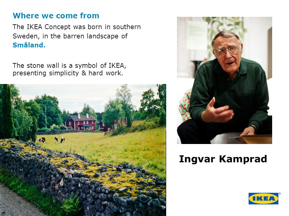 Ingvar Kamprad Where we come from
