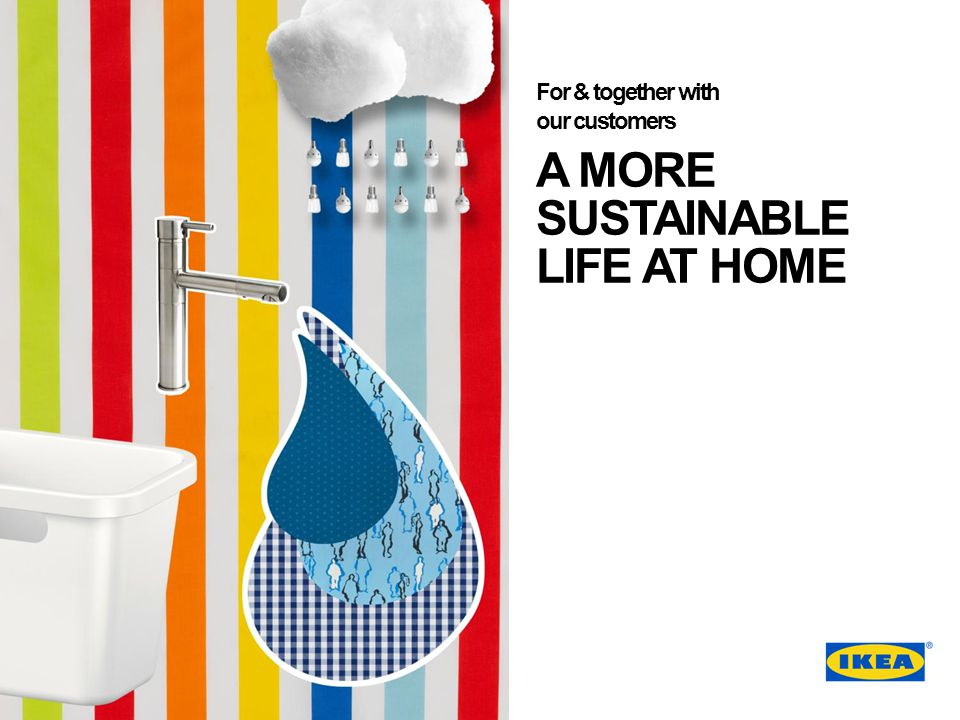 A MORE SUSTAINABLE LIFE AT HOME
