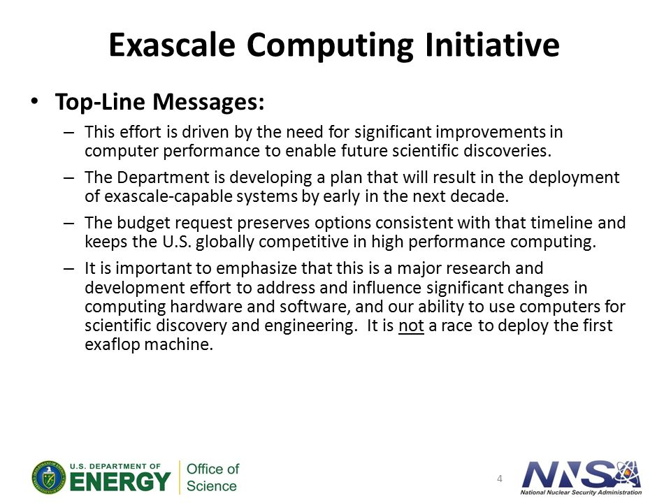 Exascale Challenges and Issues
