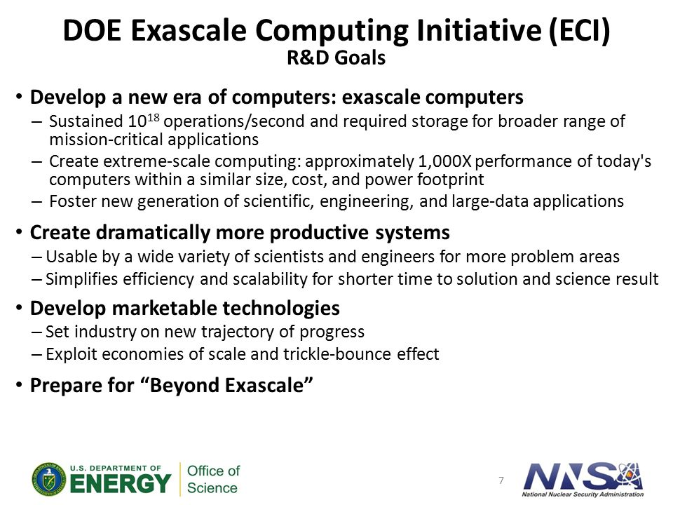 What is Exascale Computing