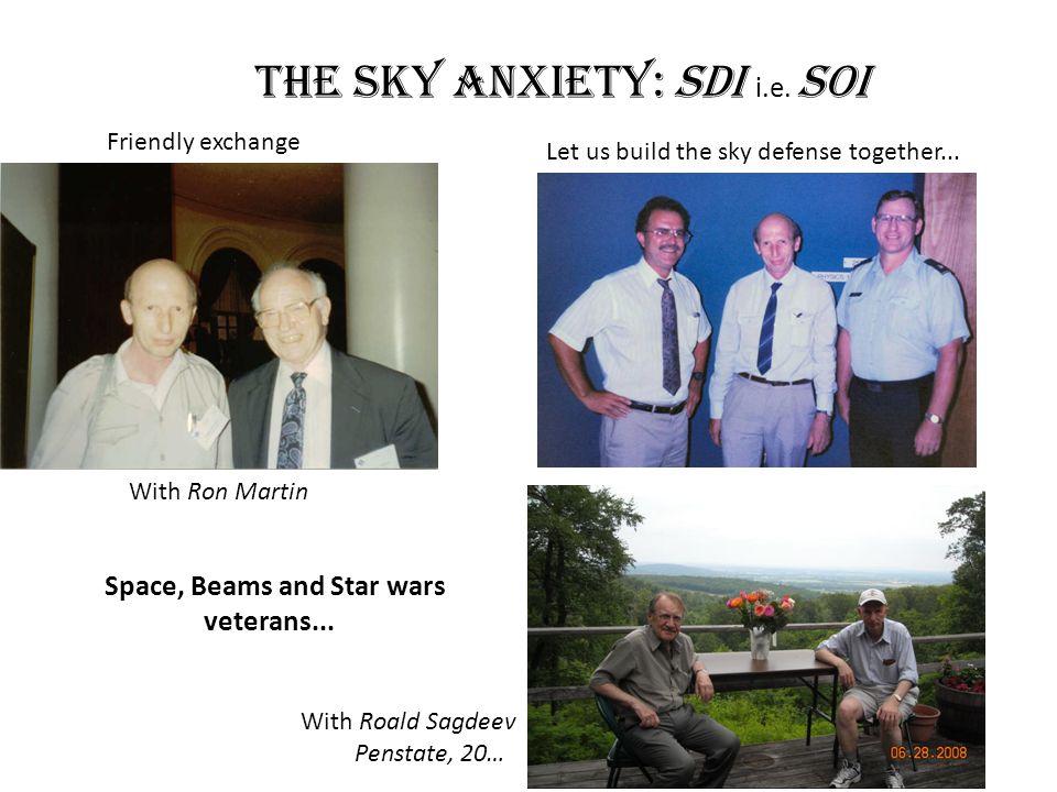 The sky anxiety: SDI i.e. SOI