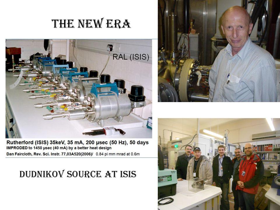 Dudnikov Source at ISIS