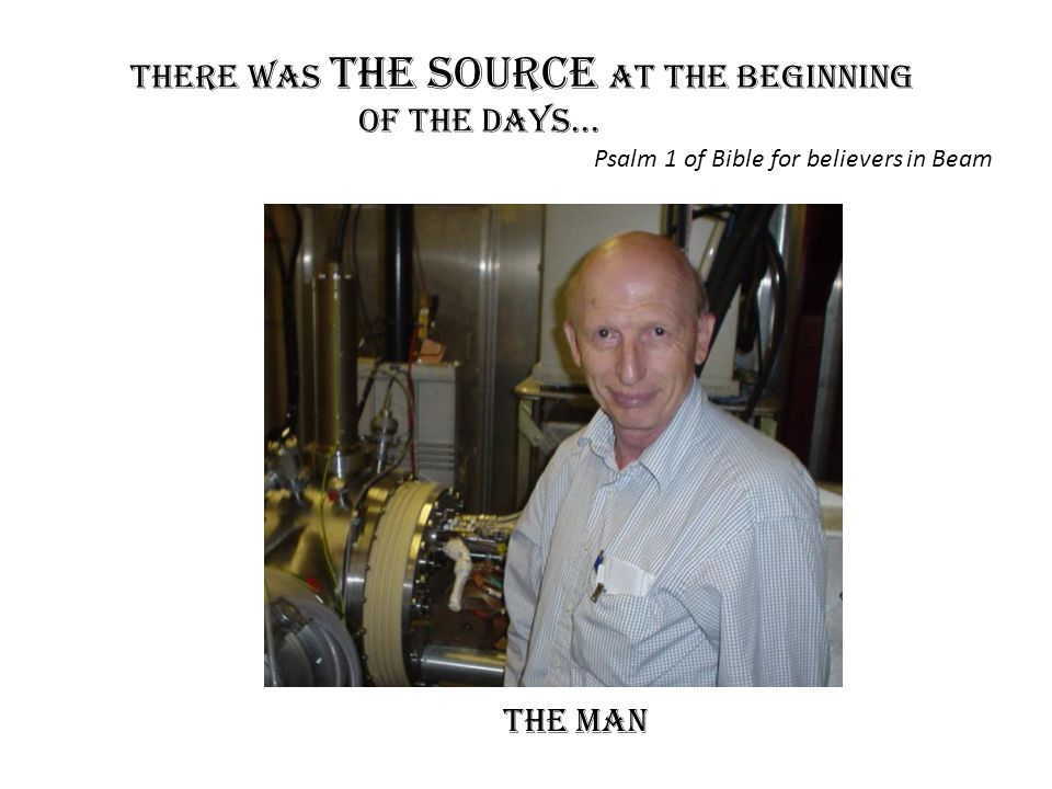There was the Source at the Beginning