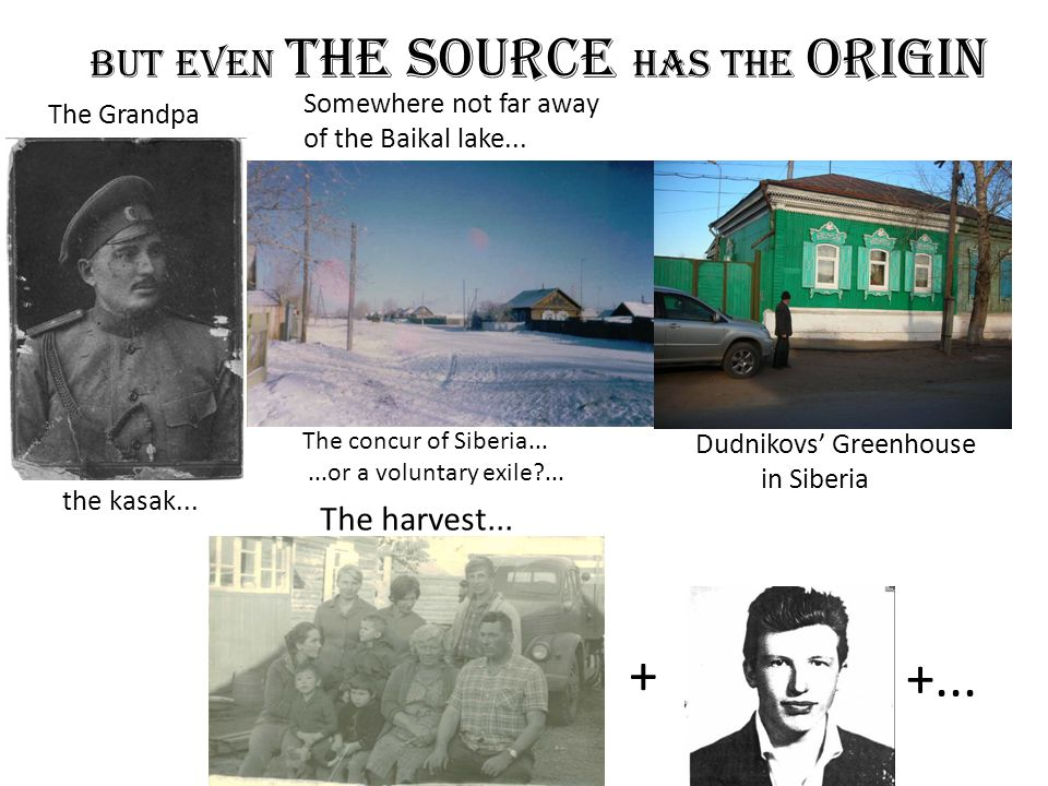 But Even THE Source has the origin