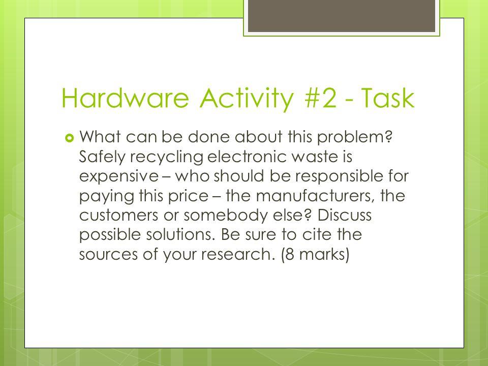 Hardware Activity #2 - Task
