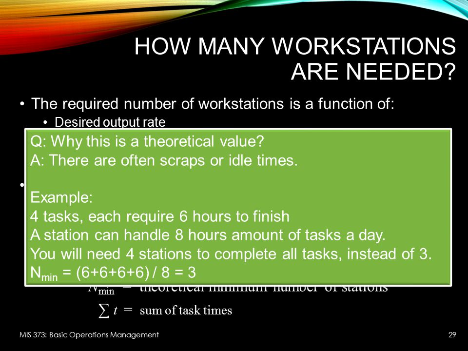 How Many Workstations are Needed