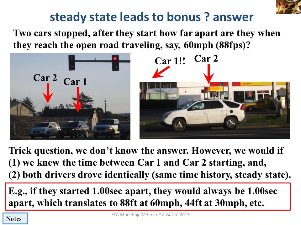 steady state leads to bonus answer