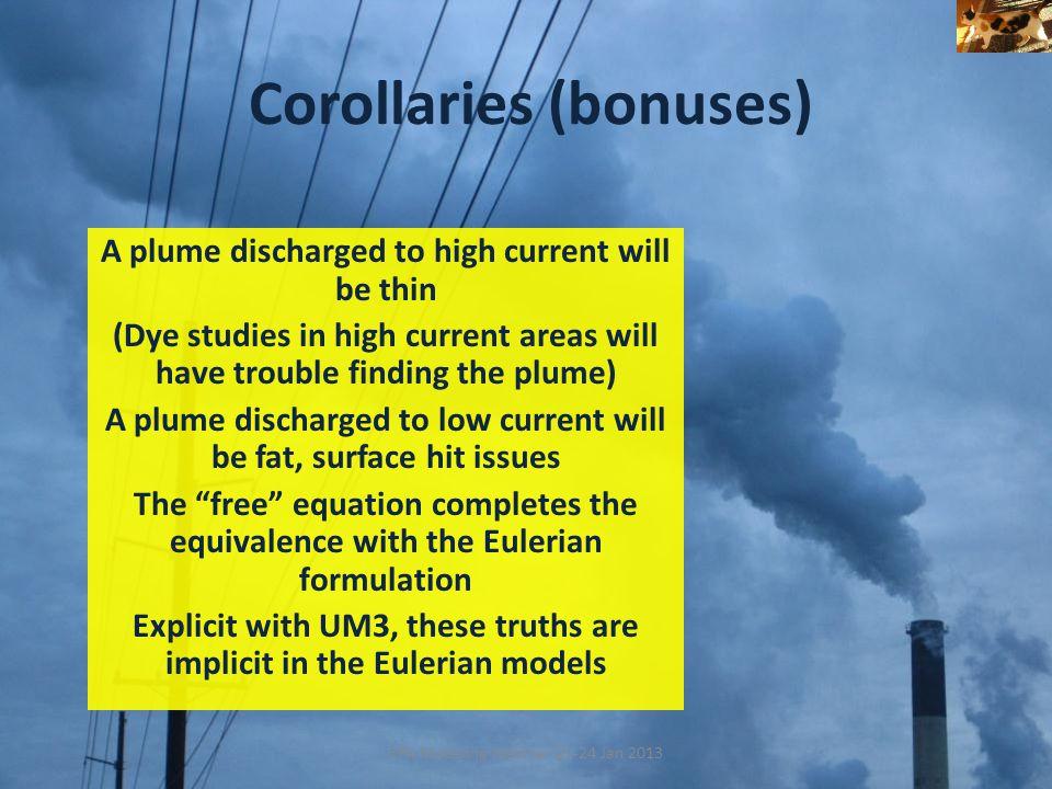 Corollaries (bonuses)