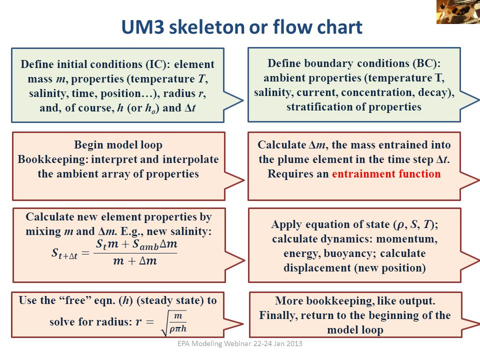 UM3 skeleton or flow chart