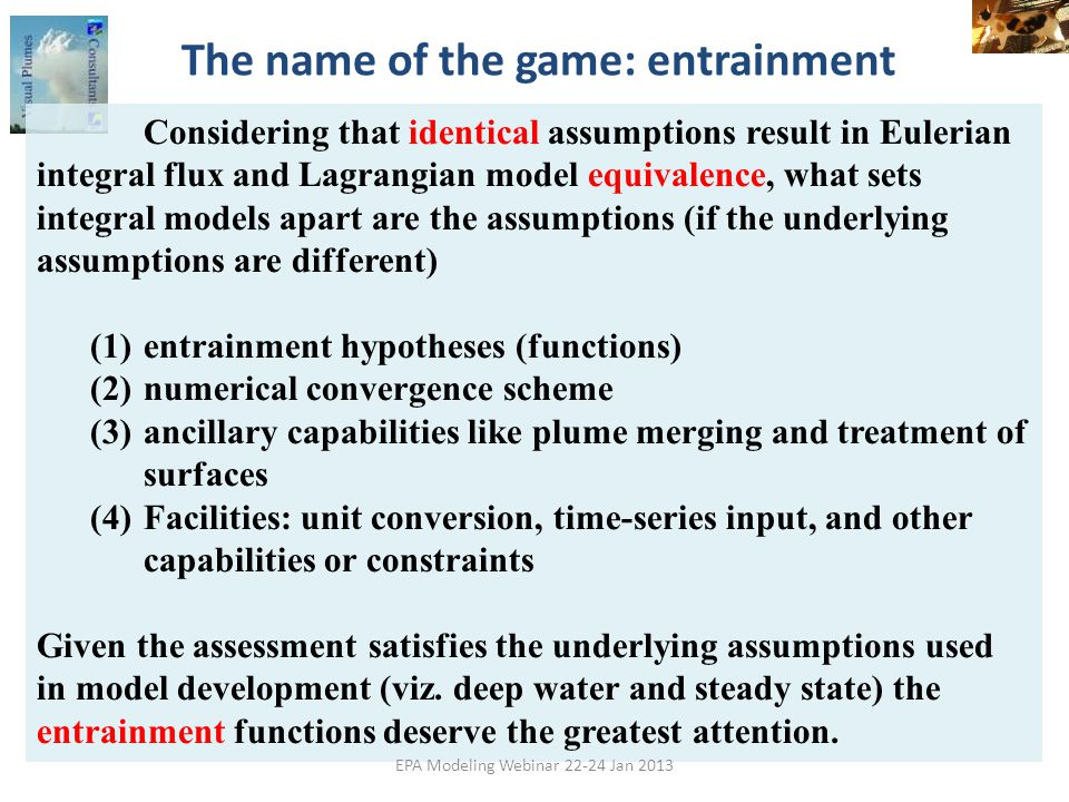 The name of the game: entrainment