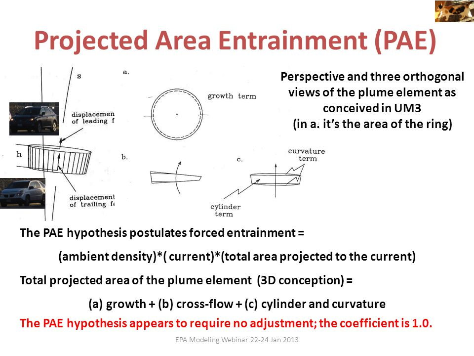 Projected Area Entrainment (PAE)