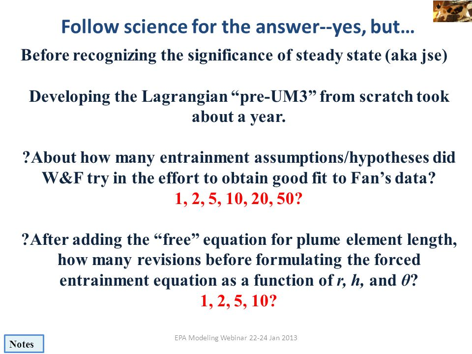 Follow science for the answer--yes, but…