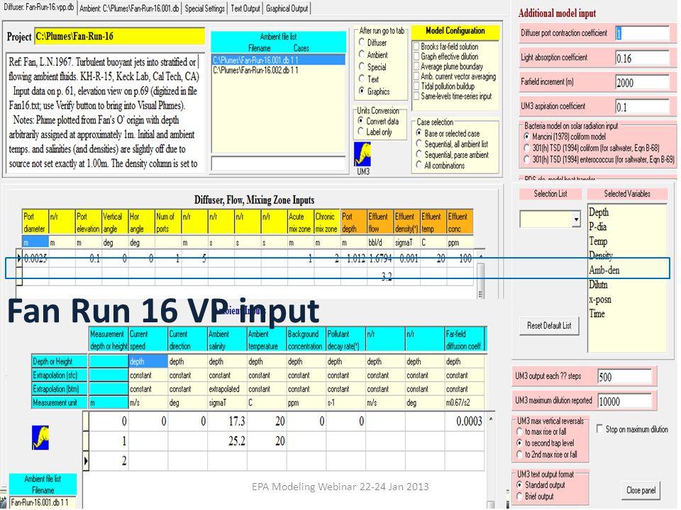 EPA Modeling Webinar 22-24 Jan 2013