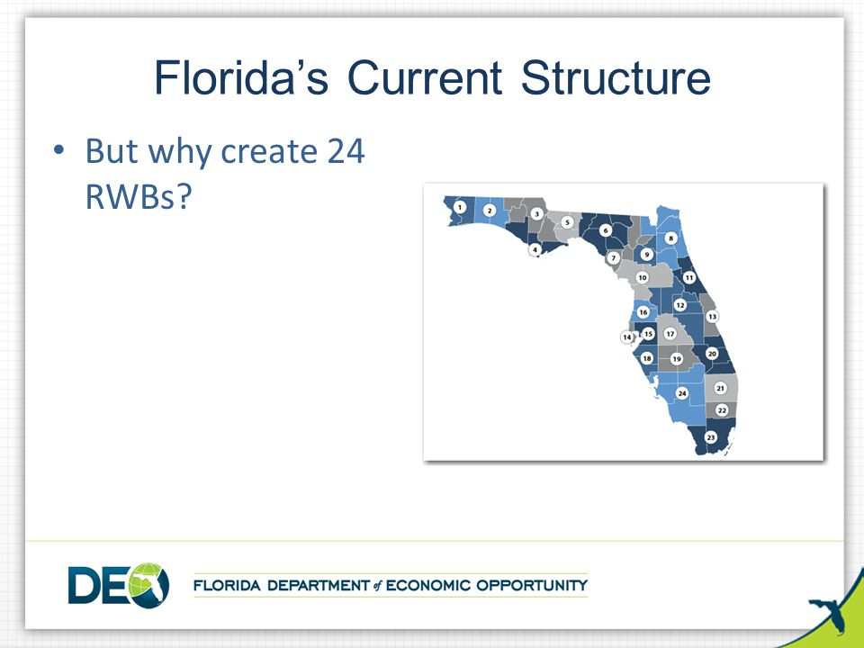 Florida's Current Structure