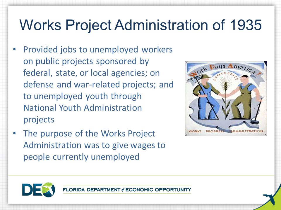 Works Project Administration of 1935