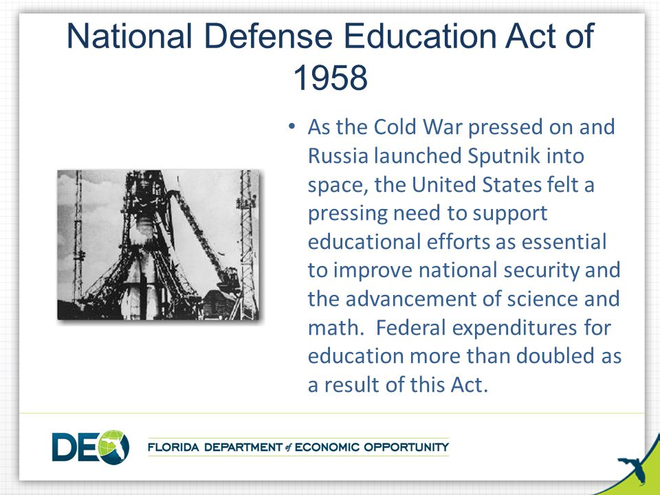 National Defense Education Act of 1958