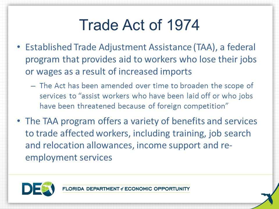 Trade Act of 1974
