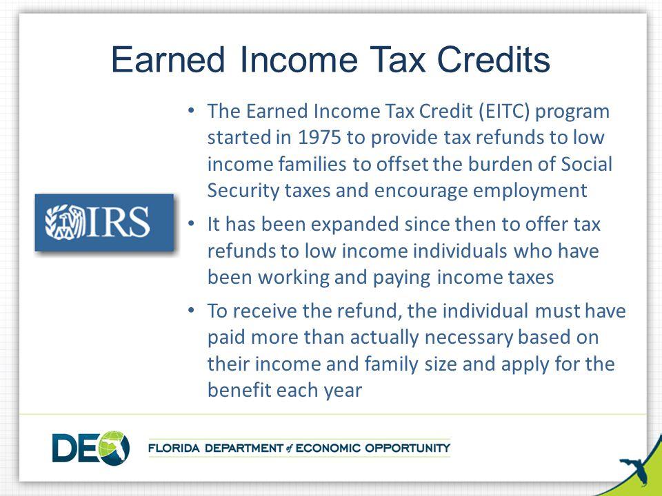 Earned Income Tax Credits