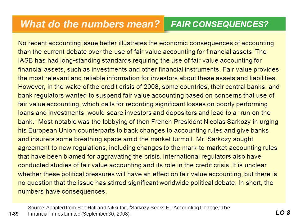 FAIR CONSEQUENCES