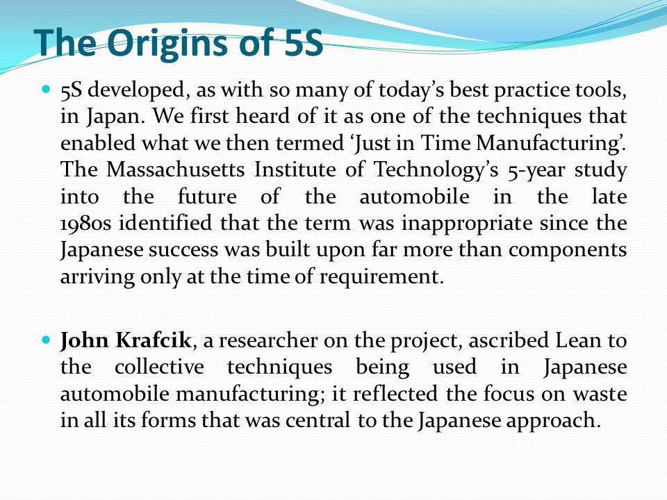 The Origins of 5S