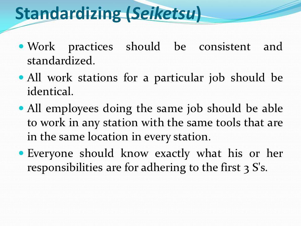 Standardizing (Seiketsu)