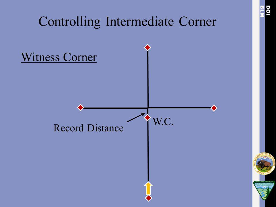 Controlling Intermediate Corner