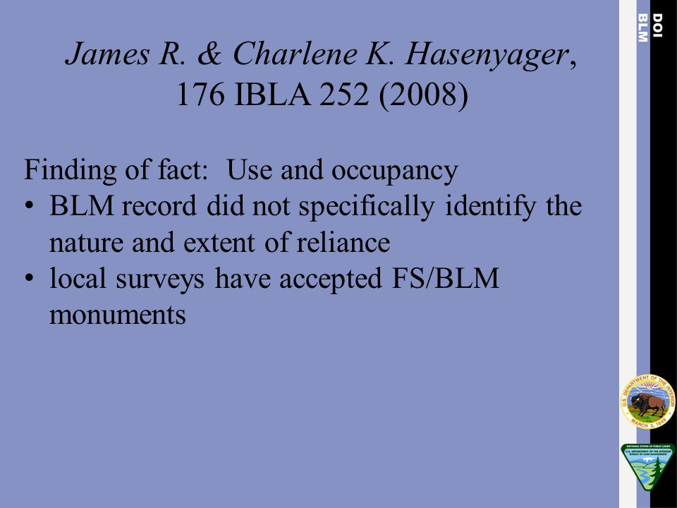 James R. & Charlene K. Hasenyager,