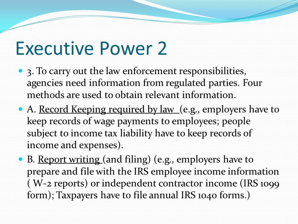 Executive Power 2