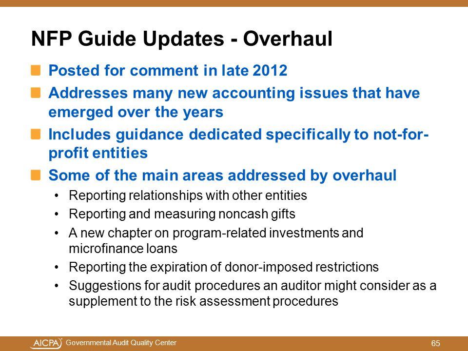 NFP Guide Updates - Overhaul