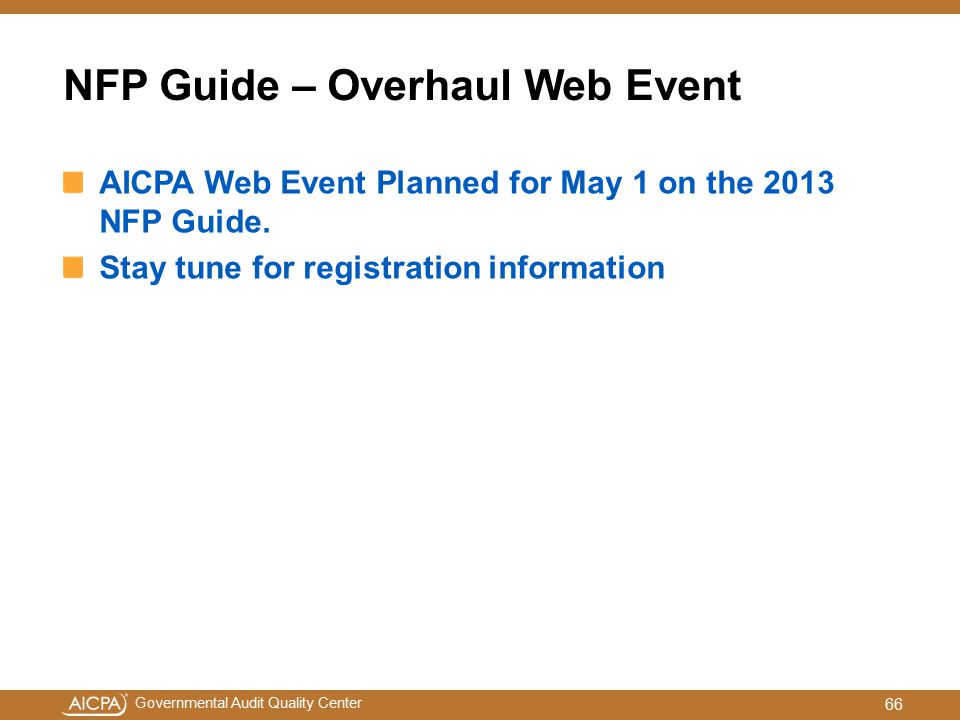 NFP Guide – Overhaul Web Event