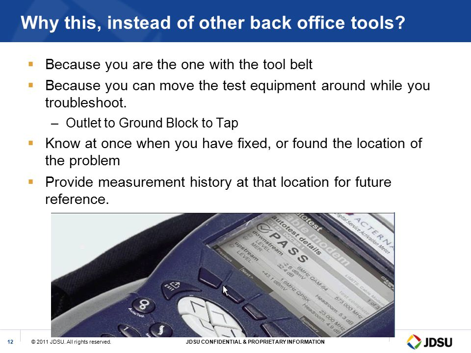 Why this, instead of other back office tools