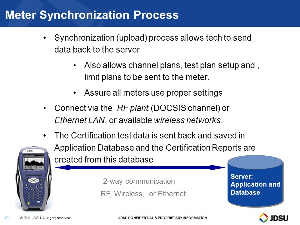 Meter Synchronization Process